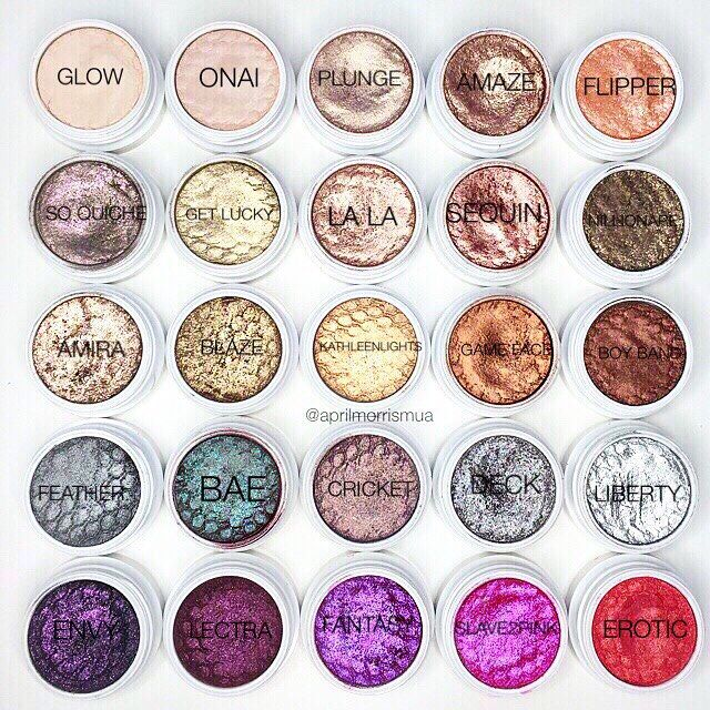 As promised  here are the names! @colourpopcosmetics xx
