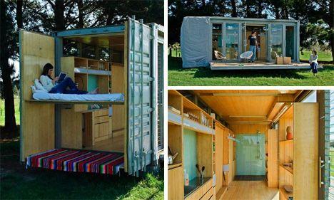 """Casas """"contentores"""" em aço (parte 4) - http://www.casaprefabricada.org/casas-contentores-em-aco-parte-4"""