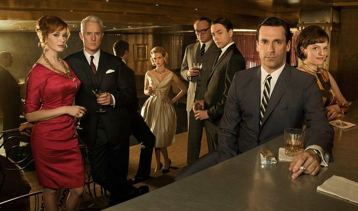 Mad Men returns! Finally. It's been too long without them!