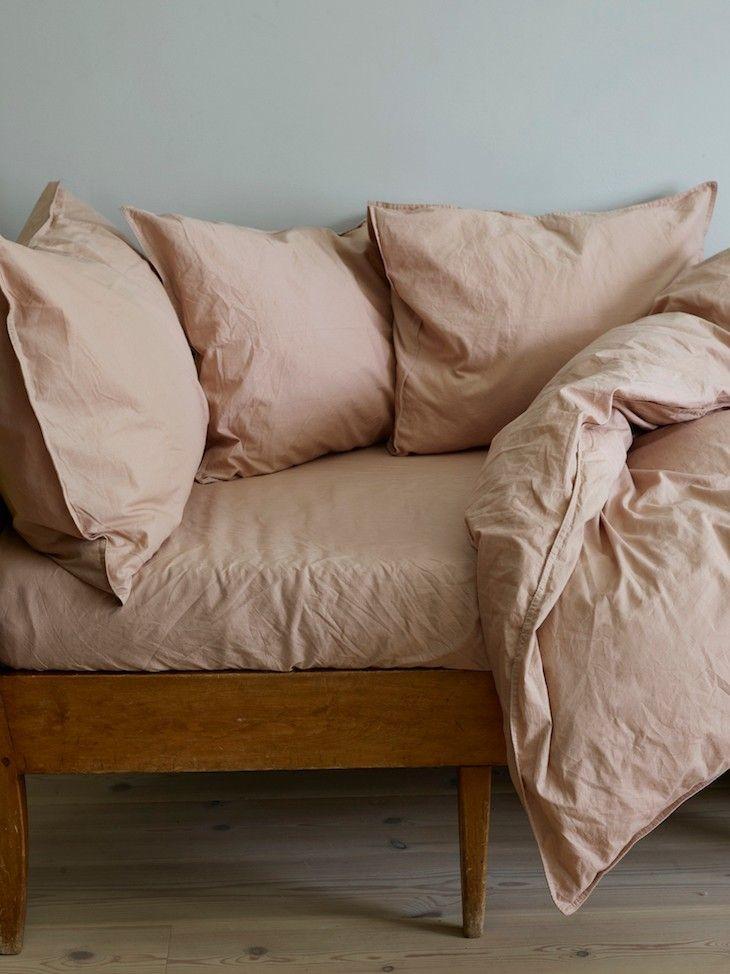 Ekologiska sängkläder i linne! //Skanska Nya Hem