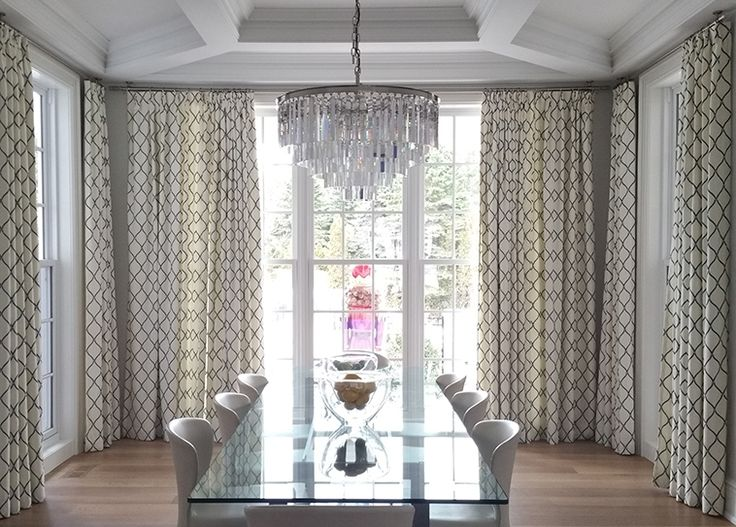 Dining Roomu0027s Curtains Role In Interior Decoration