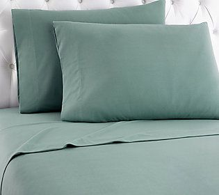 shavel micro flannelr solid color twin sheet set - Queen Sheet Sets
