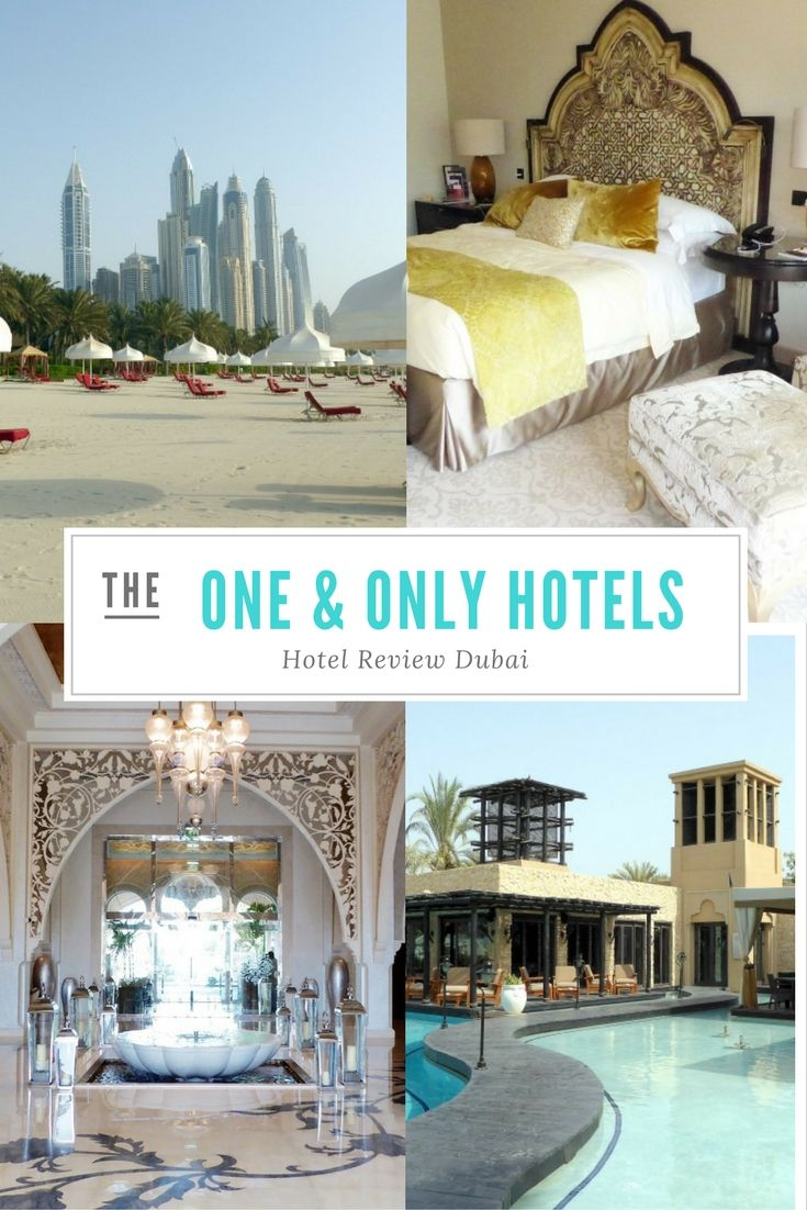 Welches Hotel in Dubai? Definitiv eines der One & Only Hotelkette! Warum?