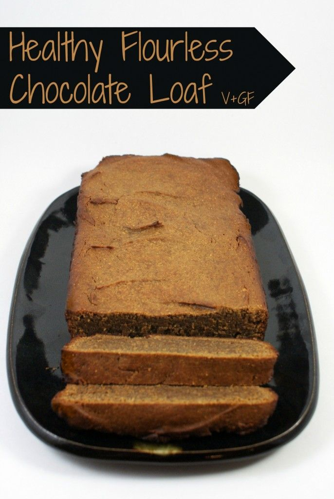 Healthy Flourless Chocolate Loaf with Pure Goodness Protein - vegan, gluten-free, grain-free, naturally sweetened, and pack with protein