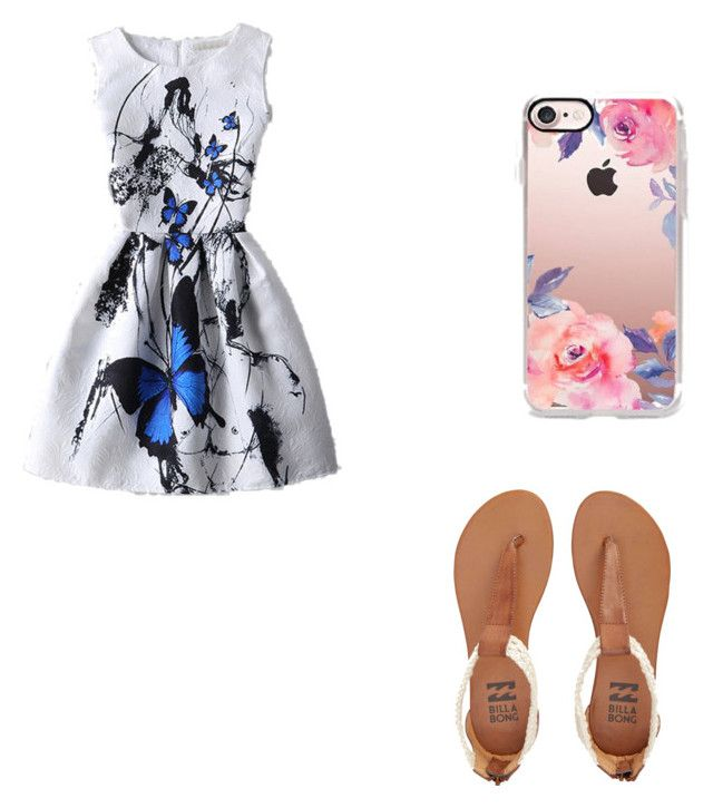 """""""Untitled #13"""" by vampbunny20 on Polyvore featuring Billabong and Casetify"""