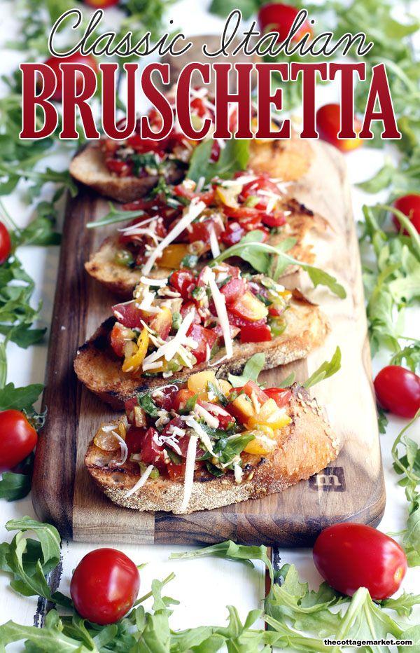 Bruschetta - The Cottage Market
