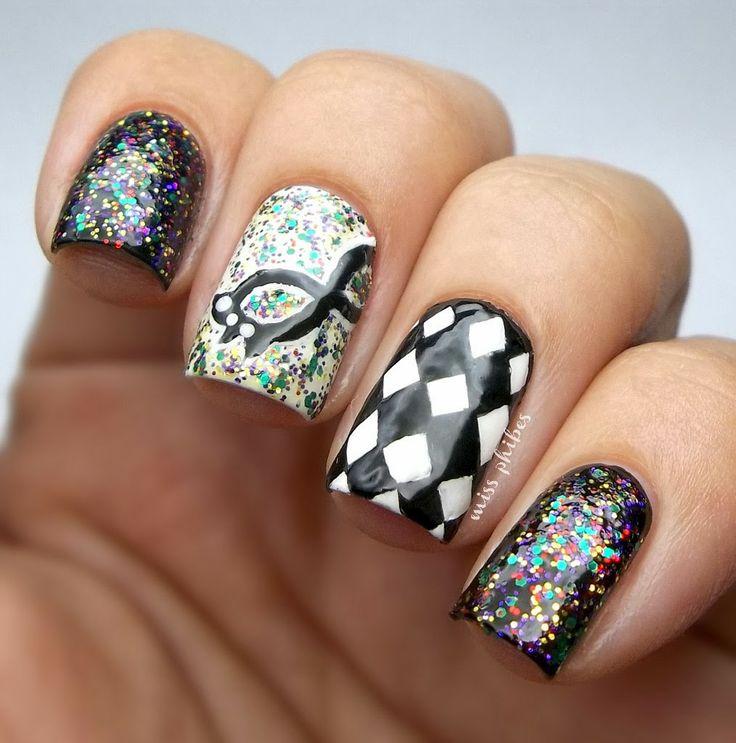 miss phibes carnival #nail #nails #nailart