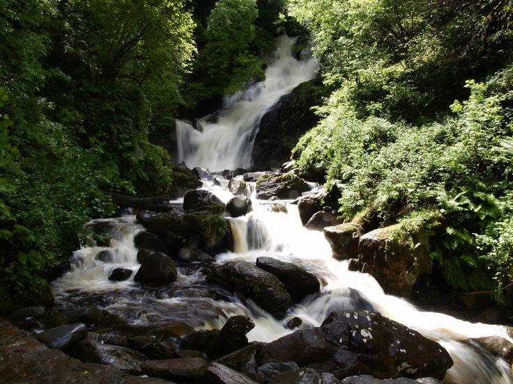 Torc Waterfall in Killarney, Co Kerry