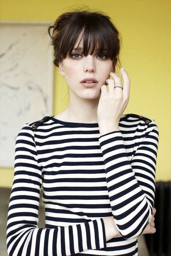 Stacy Martin.