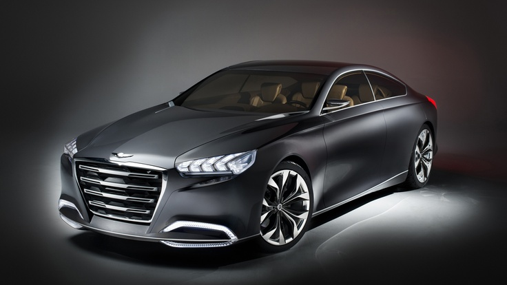 Hyundai HCD-14 Genesis Concept. Click on the above image for more photos and information. (Hyundai Motor America)