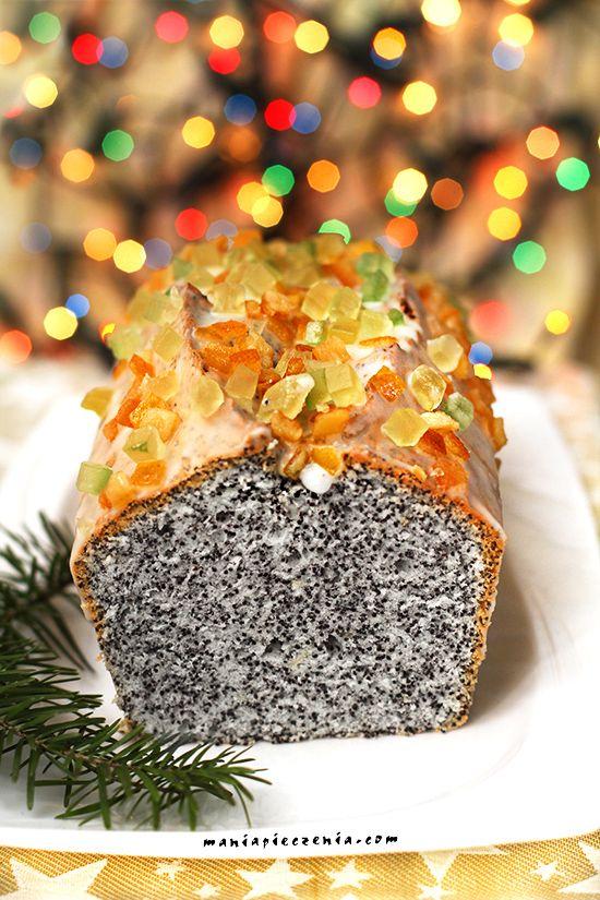 piegusek, piegus, piegus z białek, ucierane ciasto z makiem, ciasto z białek z makiem, szybkie ciasto z makiem