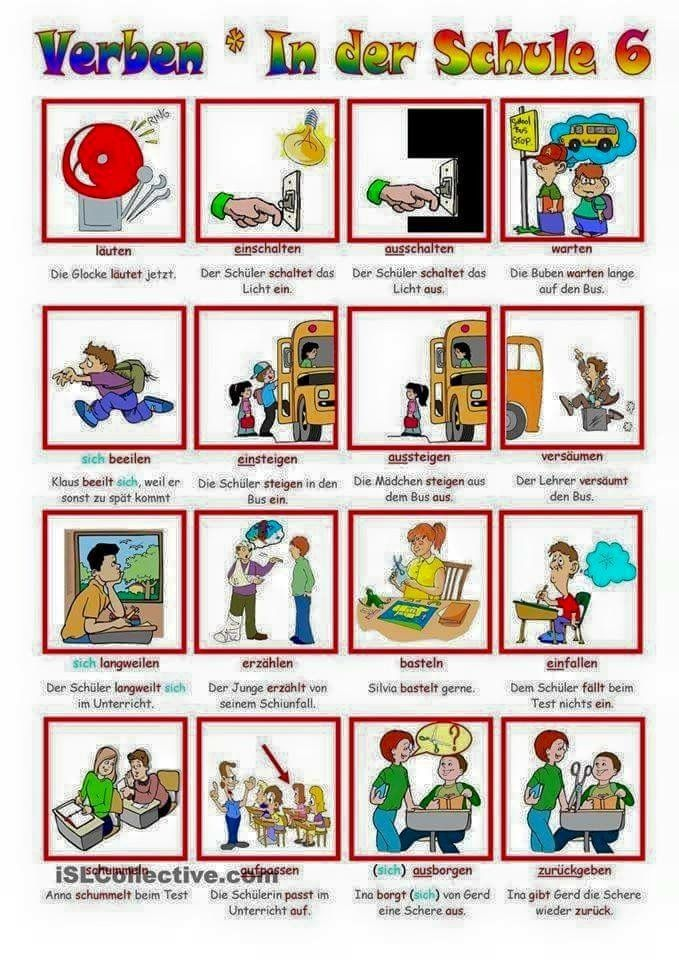 429 best learn German images on Pinterest | Learn german, German ...
