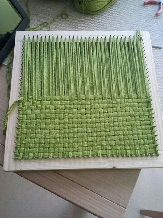 Loom Square technique