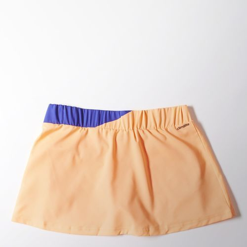adidas Falda Pantalón de Tennis Response Mujer - Orange   adidas Colombia