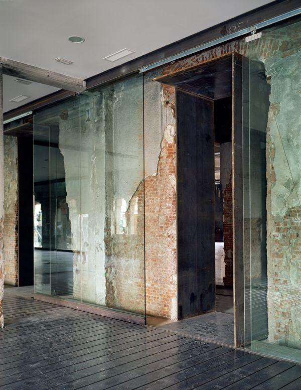 Glass/Wood/Steel/Brick L O V E