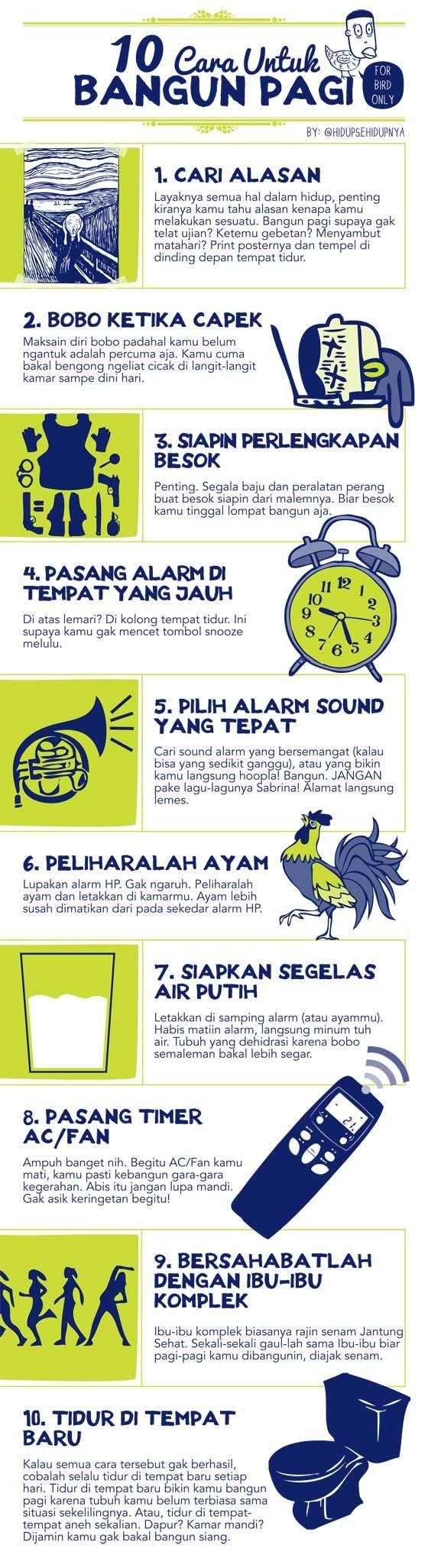 10 Cara Untuk Bangun Pagi
