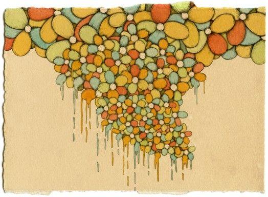 """Mooshy"" Drawings by Mel Kadel"