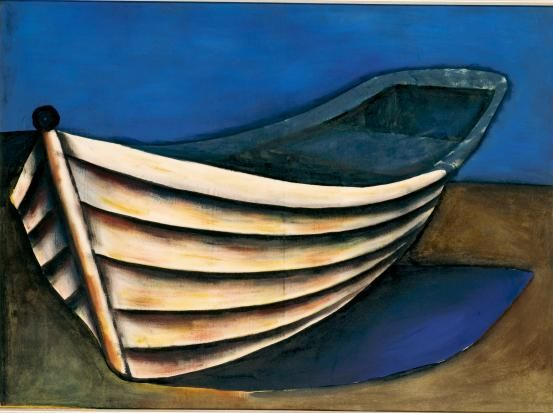 Boat  (1956)   Charles Blackman.( born 12 August 1928 Harbord, Sydney, New South Wales Nationality Australian )
