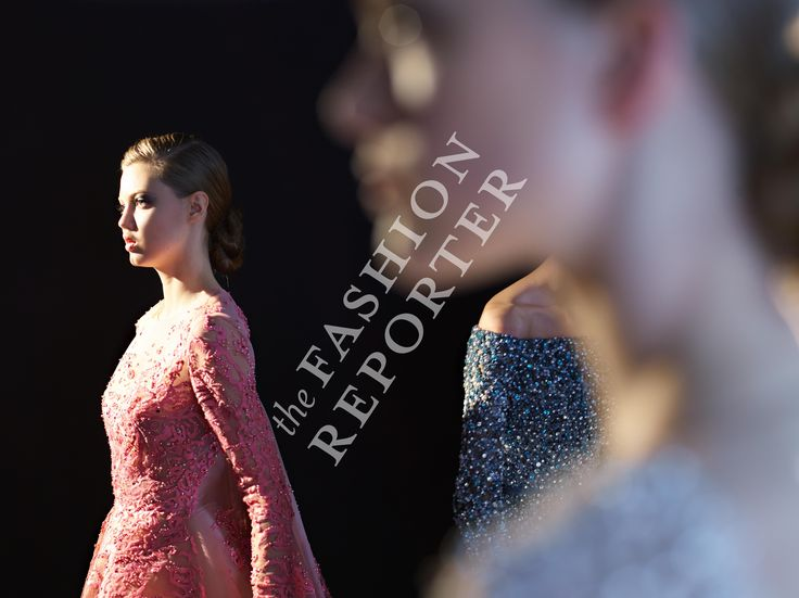 Lindsey Wixson at Elie Saab Backstage | Haute Couture FW14-15 | Ph. Antonello Trio