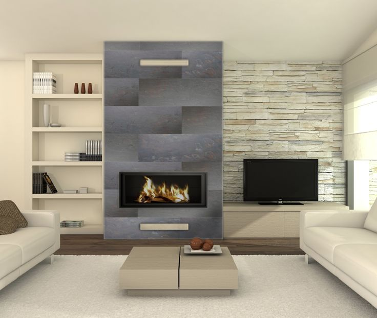 Dusk Sprinkle on a fireplace