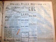 "~~~~~~~~~~~~~~~~~~~~~   FOUND Laptop @ Driskill. Engraved ""Mark Twain"" Please telegram to claim. ~~~~~~~~~~~~~~~~~~~~~~~~~#Sony #Altec #iPod #iPad #iPhone  Image: 1882 Omaha Daily Republican newspaper"