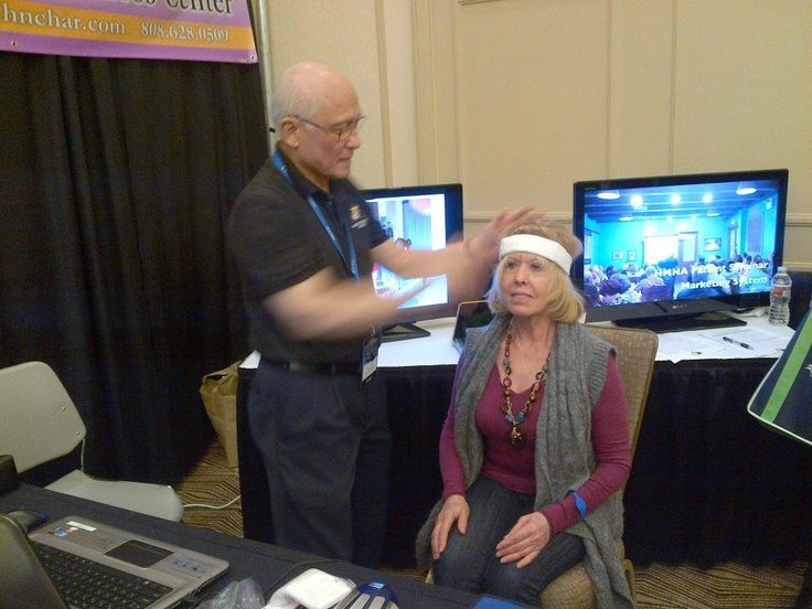 At the ZYTO medical conference in Salt Lake City, Utah working on a patient's emotional pain...
