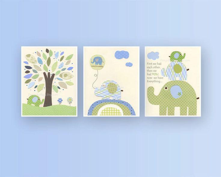 Captivating Baby Boy Nursery Wall Art Baby Boy Decor Boy By Designbymaya Photo Gallery