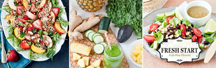 ZINGY GREEN SKIN CLEANSER GREEN SMOOTHIE   Makes 2 servings 1 1⁄2 cups kale, fresh 1 cup coconut water 1⁄2 cup cucumber 1 cup pineapple 1⁄2 avocado 1 green apple, cored 1⁄2 inch fresh ginger, peeled