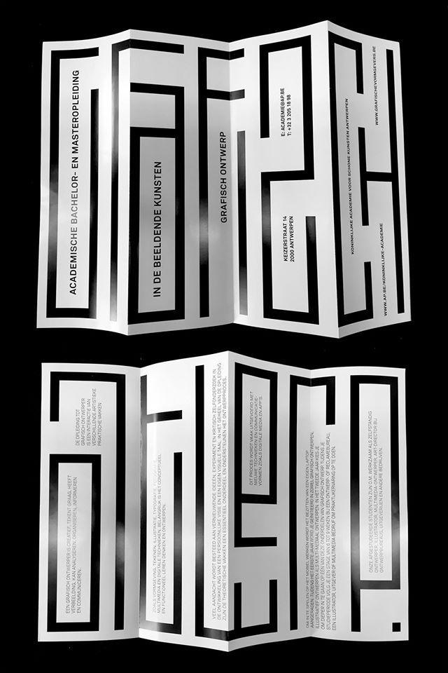 Katja de Gouw / Grafisch Ontwerp / Leaflet / 2016