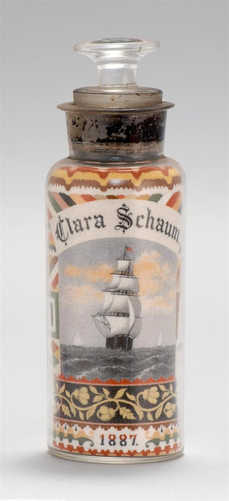 49 best sand art in a bottle images on pinterest arts crafts andrew clemens sand art bottle multicolored sand arranged in a clear glass wax sealed apothecary reviewsmspy