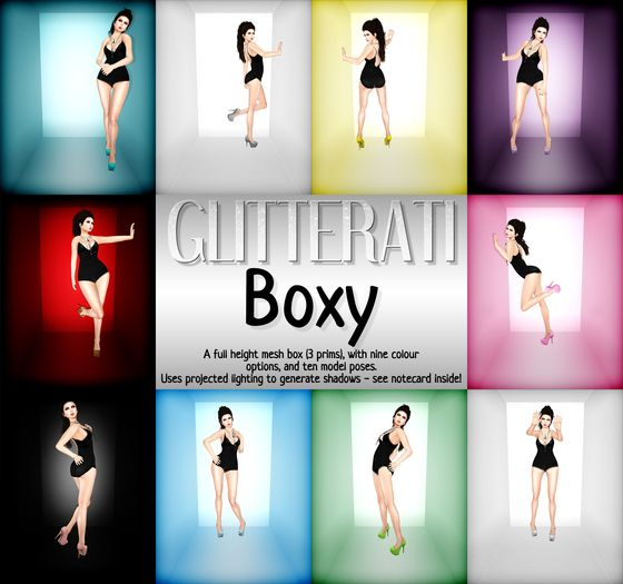 GLITTERATI - Boxy
