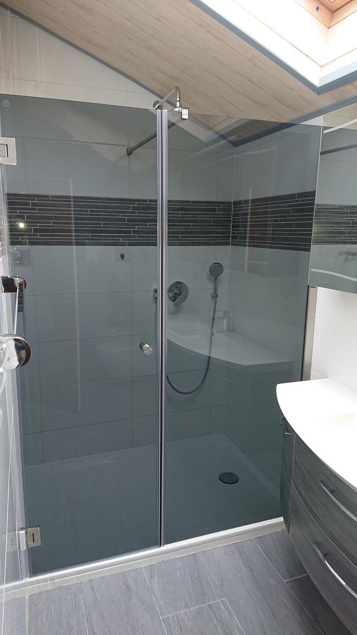 Nischendusche Glasduschen Duschabtrennung Dusche