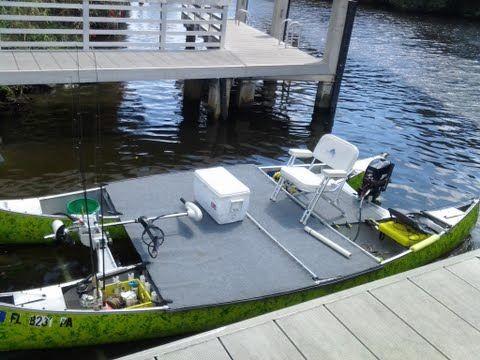 Canoemaran | Transport | Pinterest | Fishing pontoon, Fishing Boats and Diy boat