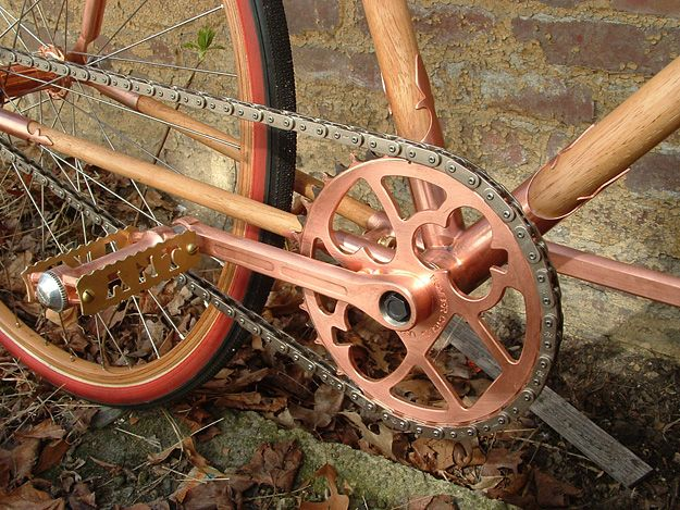 copper crank for singlespeed and fixies - ANT Bikes