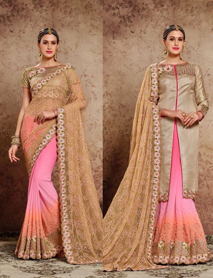 https://flic.kr/s/aHsm515Unu   KCRT_1587   Designer party wear saree collections...