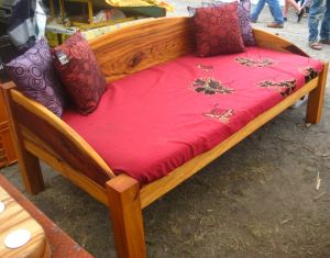 Camphor Wave Daybed. Illusive Wood Designs