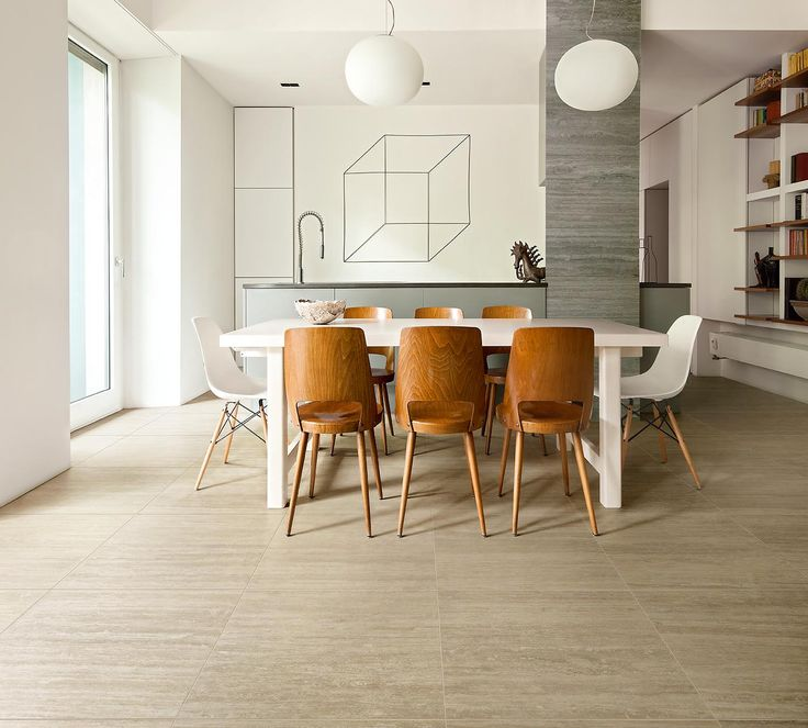 TALE: porcelain stoneware travertine effect