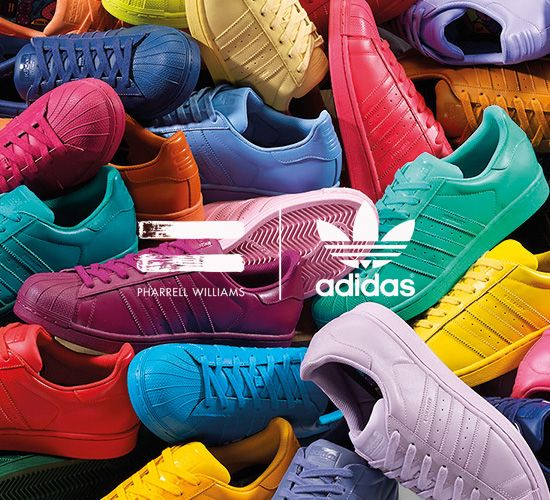 Pharrell x adidas Originals Superstar 'Supercolor' Pack - Order Online at  Sneakersnstuff