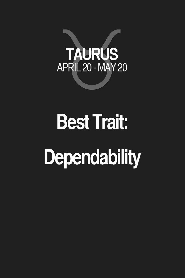 Best Trait: Dependability Taurus | Taurus Quotes | Taurus Zodiac Signs