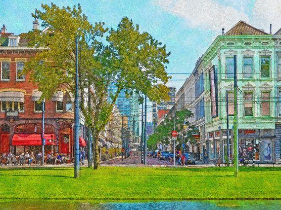 Rotterdam, Van Oldenbarneveltstraat