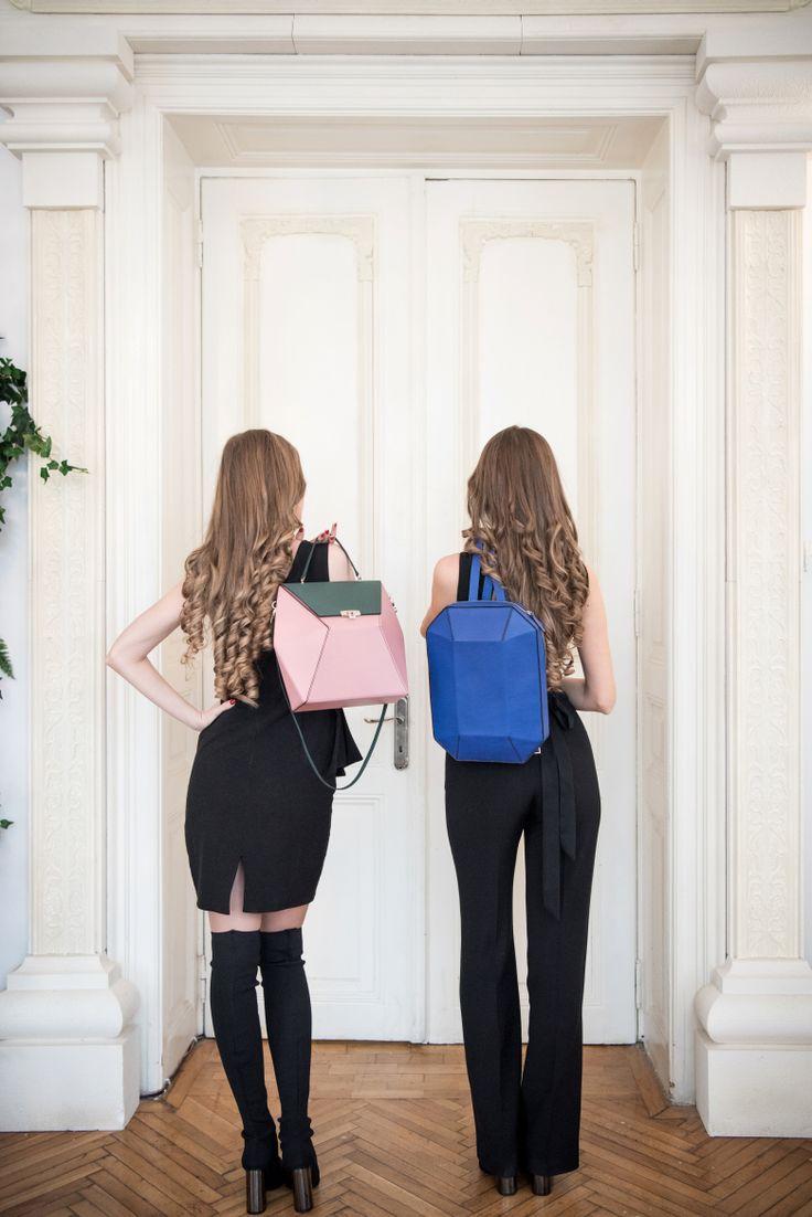 Hand made, geometrical, beautiful bags. Luvers