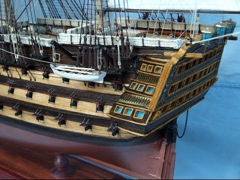 H.M.S. Victory hajó makett 1. hajómodell, ship model, models, maquettes ...