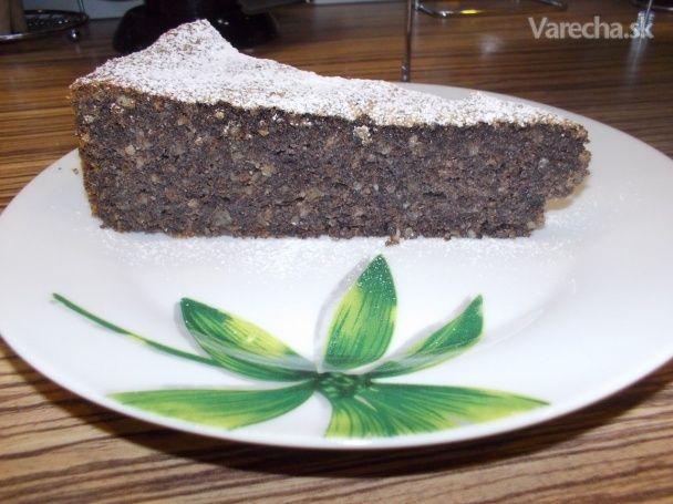 Makový koláč bez múky (fotorecept)
