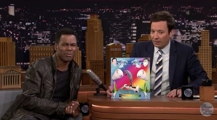 Watch Chris Rock and Jimmy Fallon Rate Random Songs They Found Online http://pnps.co/12vkh