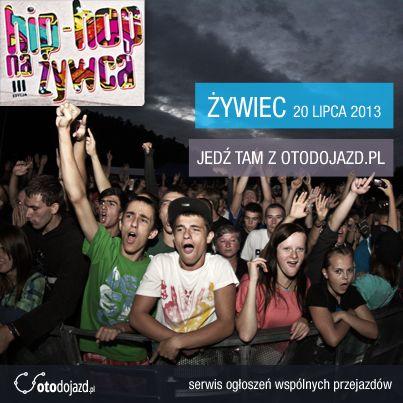 Współpracujemy z festiwalem Hip-Hop Na Żywca #hiphop #HHNŻ #otodojazd #festiwal #Żywiec