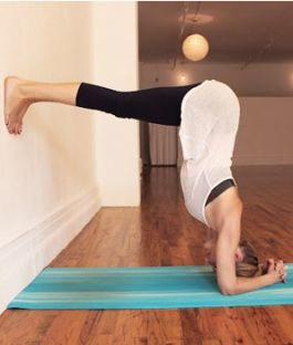 Stress relieving yoga moves