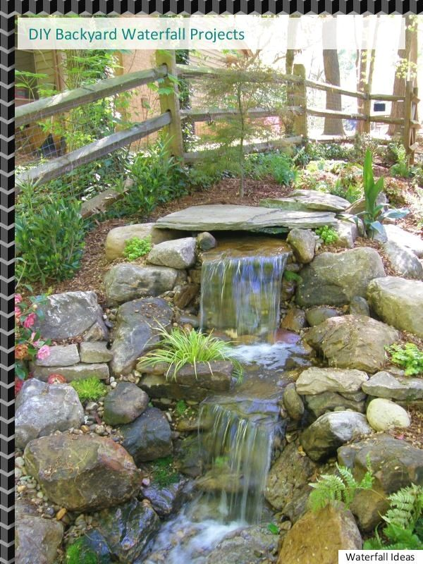 Great Pinspiration Backyard Waterfall Ideas Waterfalls