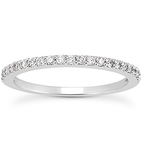 1/4 Carat T.W White Diamond Band in 10K White Gold Szul https://www.amazon.com/dp/B005FVVG1G/ref=cm_sw_r_pi_dp_SpaAxb4GHK6WJ