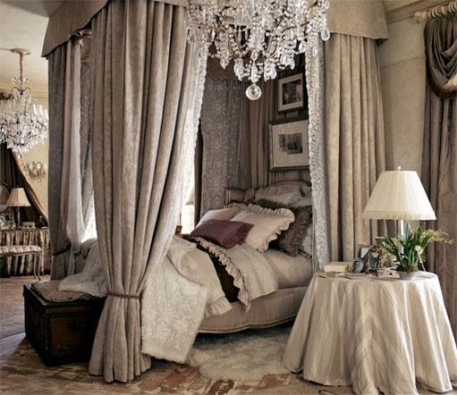 "Ralph Lauren Home Archives, ""The Heiress"" Bedroom, Fall 2010"