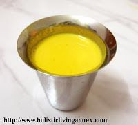 Holistic Living Annex: Turmeric Milk Remedy for Cough, Cold and ...